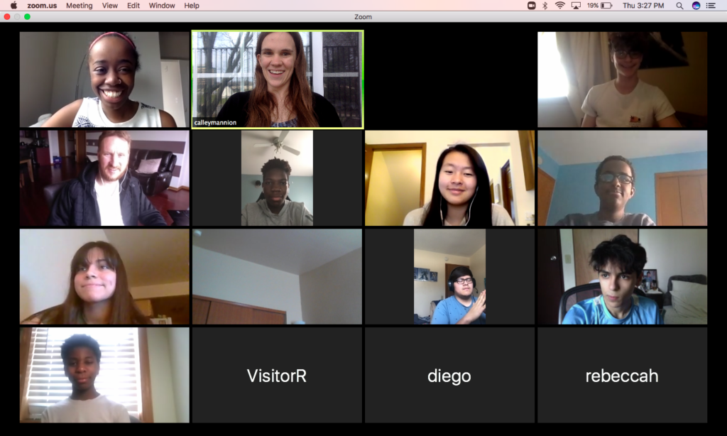 Hosting our first virtual program: Hear Me Now, Technology Amplifying Student Voices