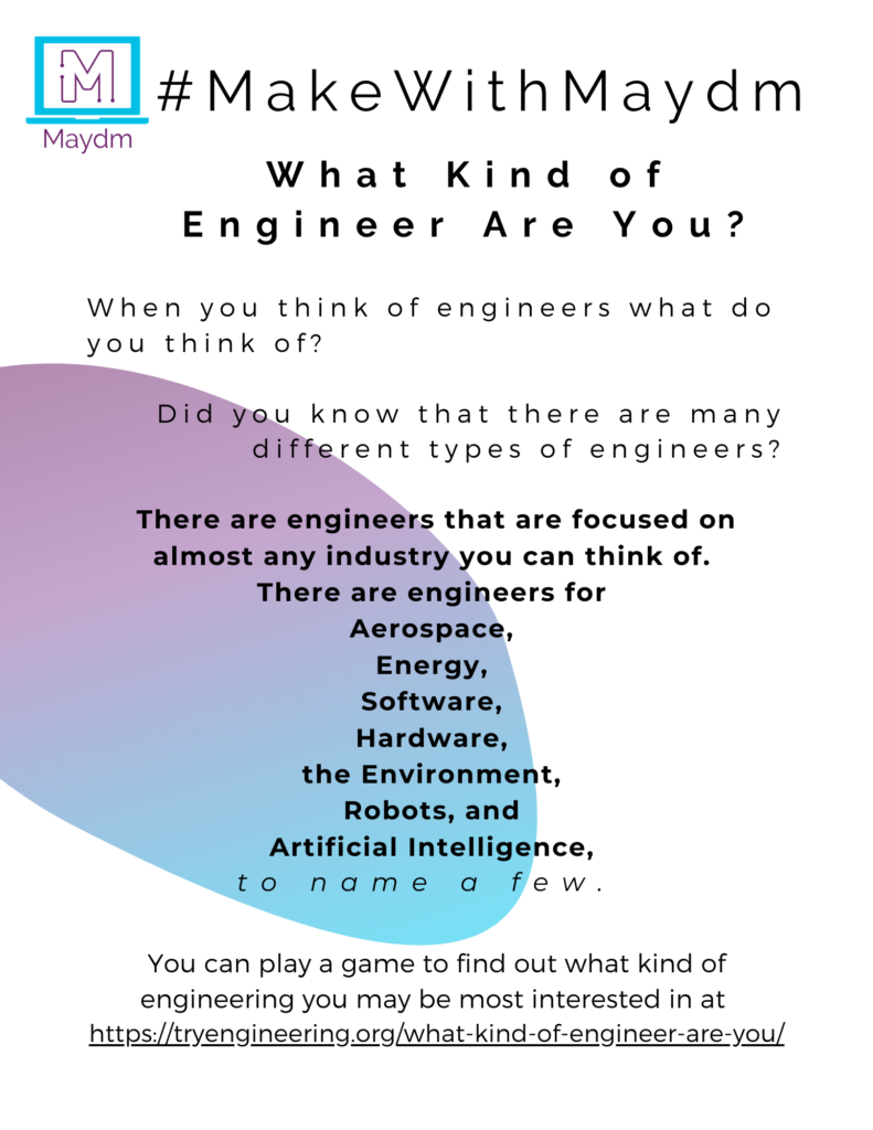 What kind of engineer are you